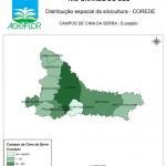 Distribuição Espacial da Silvicultura RS_C_Campos de Cima da Serra - eucalipto