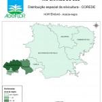 Distribuição Espacial da Silvicultura RS_C_Hortensias - acacia
