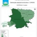 Distribuição Espacial da Silvicultura RS_C_Hortensias - eucalipto