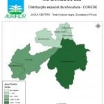 Distribuição Espacial da Silvicultura RS_C_Jacui-Centro