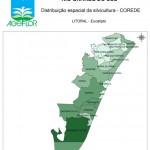 Distribuição Espacial da Silvicultura RS_C_Litoral - eucalipto