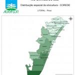 Distribuição Espacial da Silvicultura RS_C_Litoral - pinus