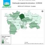 Distribuição Espacial da Silvicultura RS_C_Medio Alto Uruguai - eucalipto
