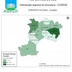 Distribuição Espacial da Silvicultura RS_C_Noroeste Colonial - eucalipto