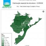 Distribuição Espacial da Silvicultura RS_C_Sul