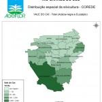 Distribuição Espacial da Silvicultura RS_C_Vale do Cai