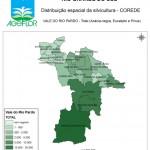 Distribuição Espacial da Silvicultura RS_C_Vale do Rio Pardo