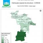 Distribuição Espacial da Silvicultura RS_C_Vale do Rio Pardo - acacia