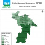 Distribuição Espacial da Silvicultura RS_C_Vale do Rio Pardo - eucalipto