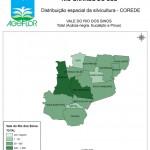 Distribuição Espacial da Silvicultura RS_C_Vale do Rio dos Sinos