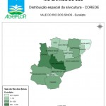Distribuição Espacial da Silvicultura RS_C_Vale do Rio dos Sinos - eucalipto