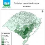 Distribuição Espacial da Silvicultura RS_mun - acacia