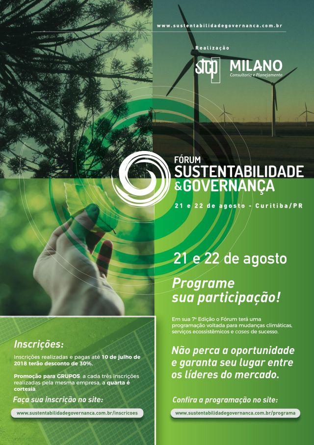 Fórum Sustentabilidade e governança