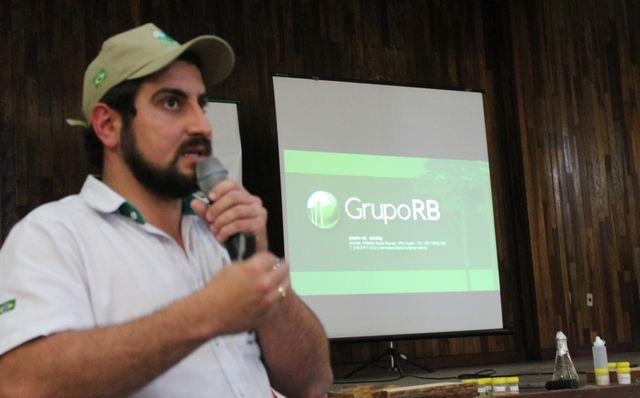 Vinícius Gontijo, coordenador de Pesquisa e Viveiro Florestal do Grupo RB