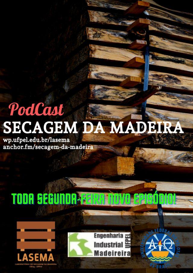 Cartaz Podcast Secagem